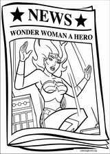 Wonder Woman coloring page (010)