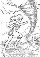 Wonder Woman coloring page (053)