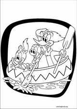 Woody Woodpecker coloring page (010)