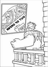 Wreck-It Ralph coloring page (003)