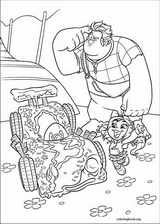 Wreck-It Ralph coloring page (006)