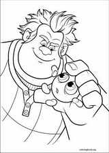 Wreck-It Ralph coloring page (012)
