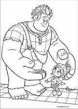 Wreck-It Ralph coloring page (014)