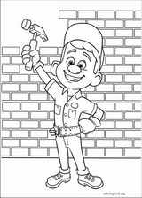 Wreck-It Ralph coloring page (017)