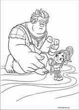 Wreck-It Ralph coloring page (024)
