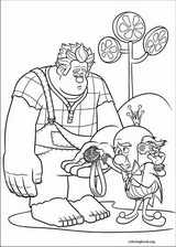 Wreck-It Ralph coloring page (025)