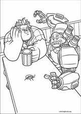 Wreck-It Ralph coloring page (027)