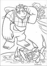 Wreck-It Ralph coloring page (029)