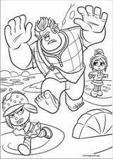 Wreck-It Ralph coloring page (030)