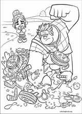 Wreck-It Ralph coloring page (033)