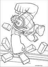 Wreck-It Ralph coloring page (039)