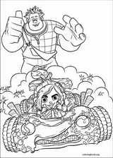 Wreck-It Ralph coloring page (042)