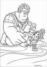 Wreck-It Ralph coloring page (043)