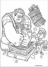 Wreck-It Ralph coloring page (048)