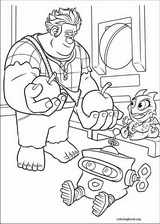 Wreck-It Ralph coloring page (050)