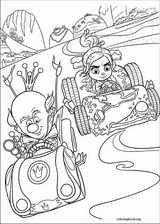 Wreck-It Ralph coloring page (054)