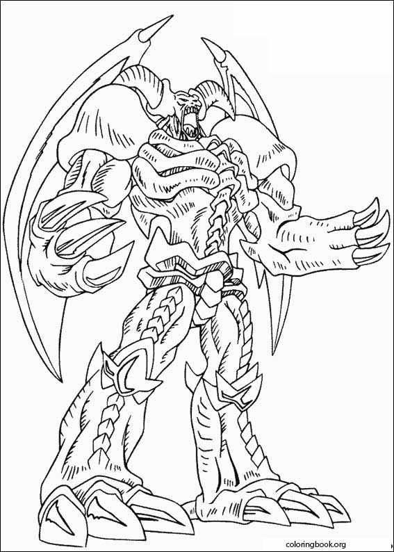 - Yu-Gi-Oh! Coloring Page (007) @ ColoringBook.org