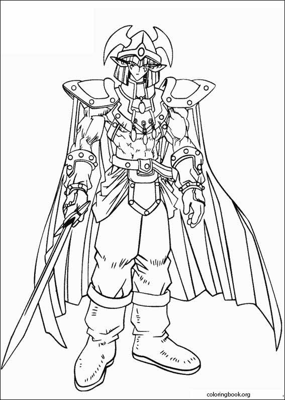 - Yu-Gi-Oh! Coloring Page (009) @ ColoringBook.org